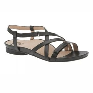 "ABEO ""Samantha"" Women's Black Sandals Size 8"
